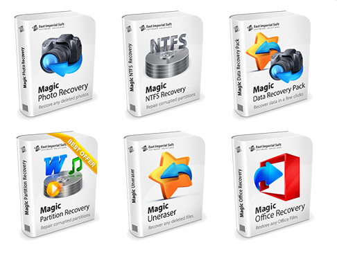 Magic Collection (FAT Recovery 2.1/NTFS Recovery 2.1/Office Recovery 1.0 /Uneraser 3.4/Photo Recovery 4.0/Partition Recovery 2.1) Magic Collection 1.1 Rus Portable by Valx