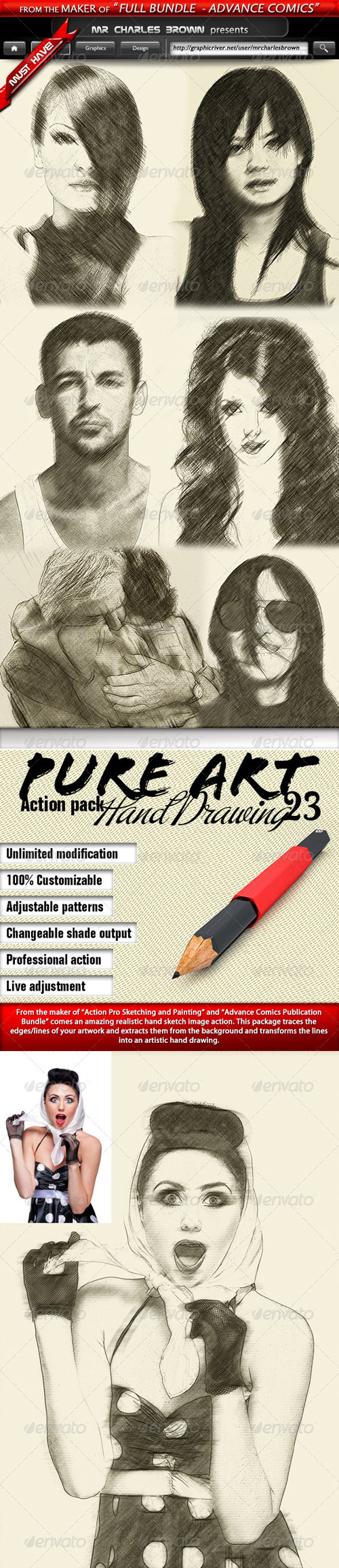 GraphicRiver - Pure Art Hand Drawing 23