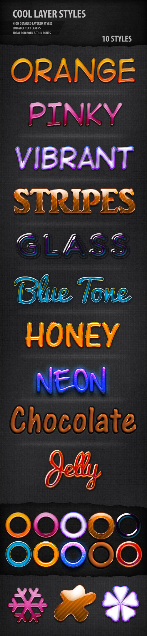 GraphicRiver - Cool Text Styles for Photoshop