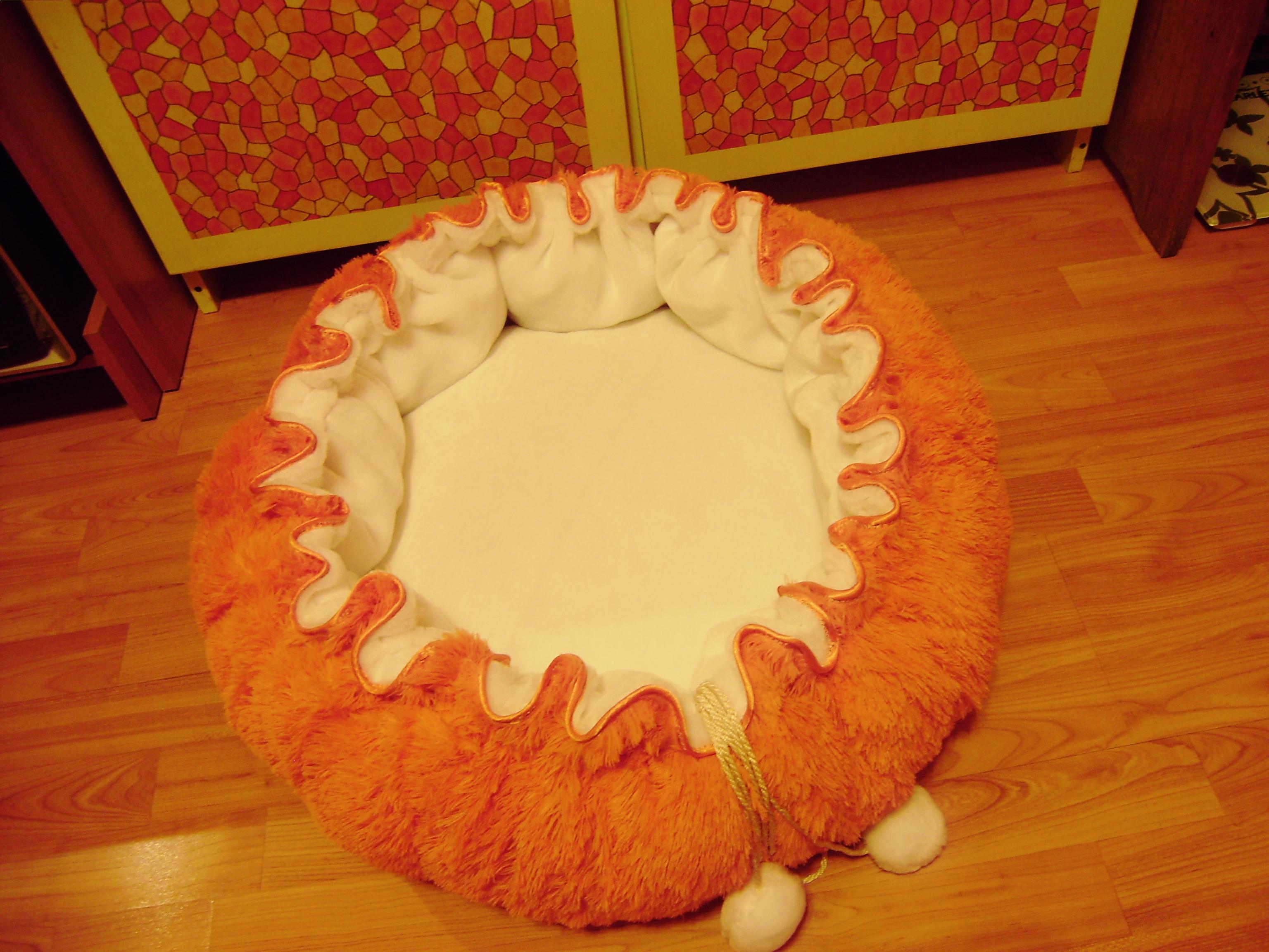 Лежак для кошки сшить