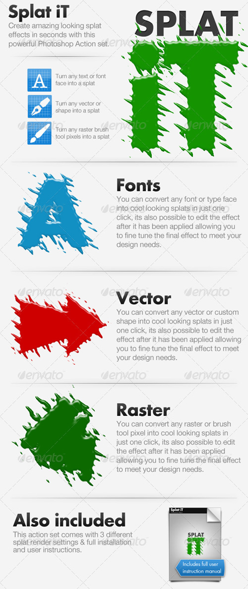 GraphicRiver - Splat Effect Actions