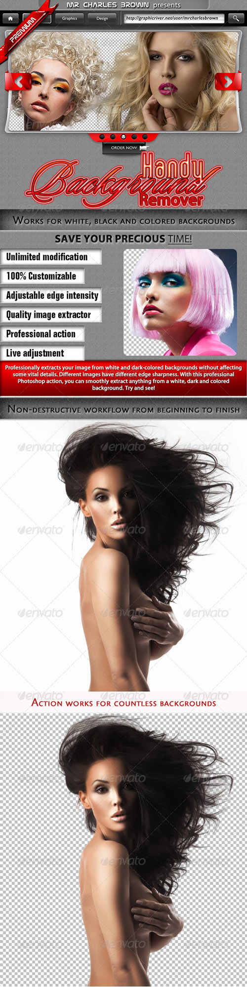 GraphicRiver - Handy Background Remover for Photoshop