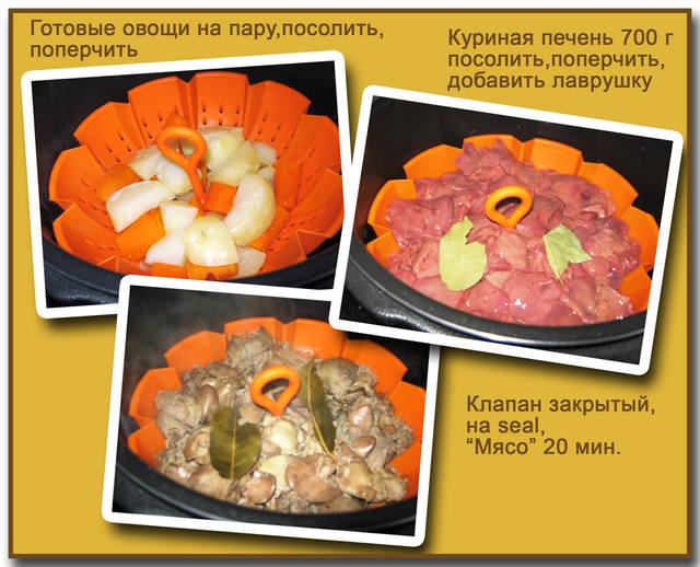 Печеночный паштет (скороварка Редмонд 4504) 4037688