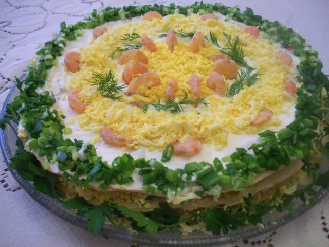 Салат Наполеон Рецепт С Фото