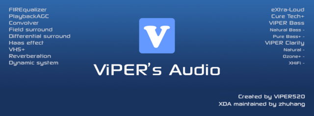 ViPER4Android / V4A + сэмплы v2.3.4.0 (2015/RUS/ENG/UKR/Android)