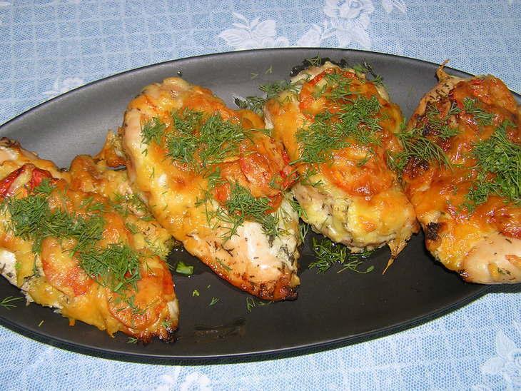 Приготовления куриного филе с