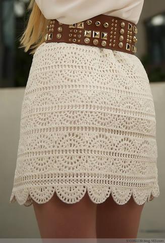 Шикарная модная юбка связанная