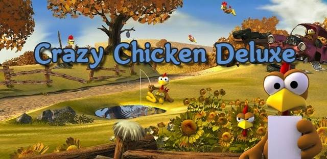 Crazy Chicken Deluxe / Morhuhn / Куриная месть v2.6.0 (2014/ENG/Multi/Android)