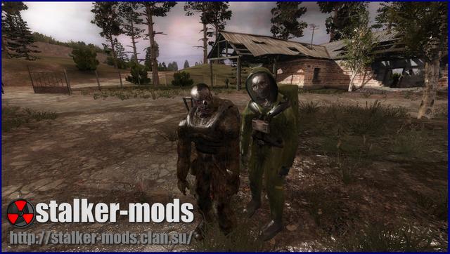 новые зомби в игре сталкер зов припяти