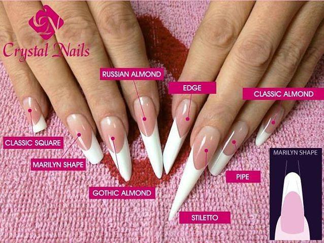 Дизайн ногтей нарощенных на формах