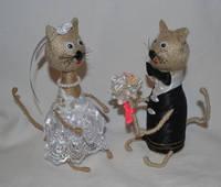 Кот из шпагата своими руками 16