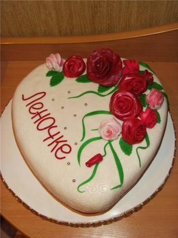 Оформление торта из мастики фото