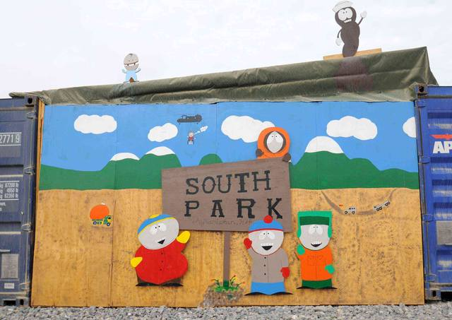 On street 8718-Welcome-to-South-Park