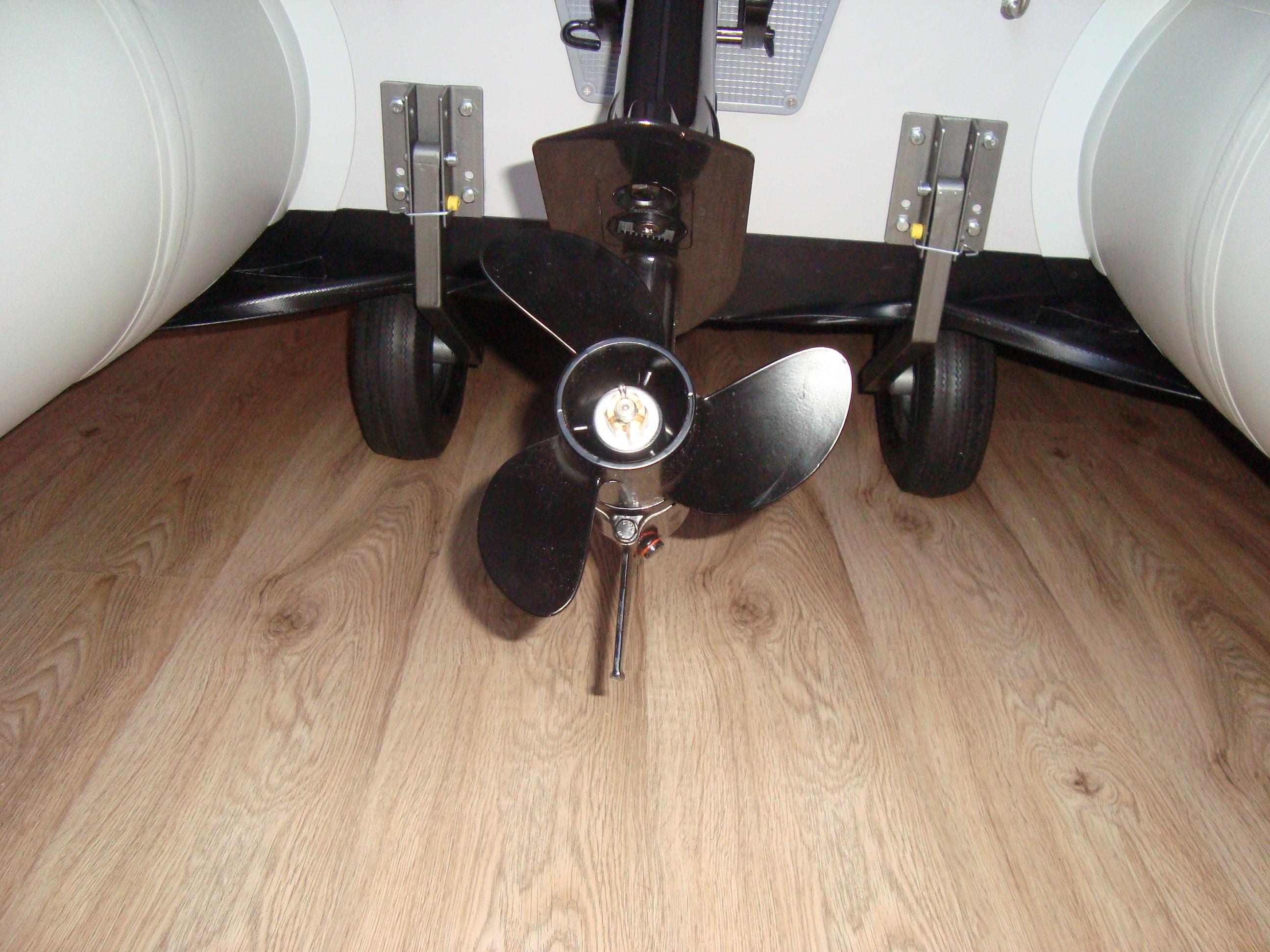 Транцевые колеса для лодки пвх своими руками 60