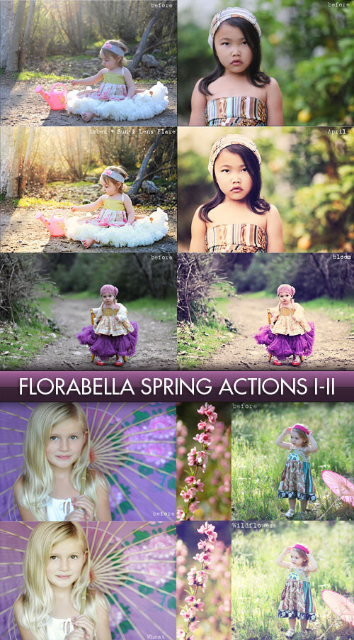 Florabella Spring Actions, Set 1-2