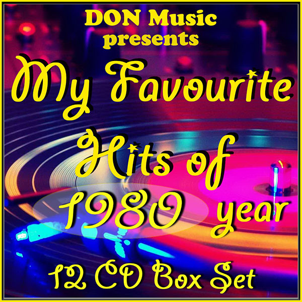 VA - My Favourite Hits of 1980 [12CD] (2014)