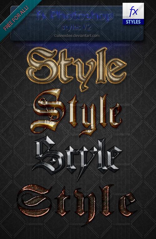 Photoshop Styles V2