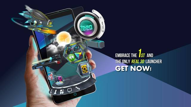 Next Launcher 3D v3.15 Build 137 + Widget + Patch + Wallpaper HD (2014/RUS/ENG/Multi/Android)