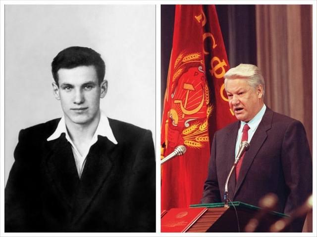 Фотографии известных политиков в молодости