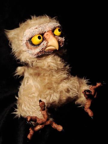 horned owl by Santani
