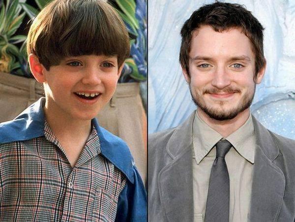 Известные актеры в детстве и сейчас