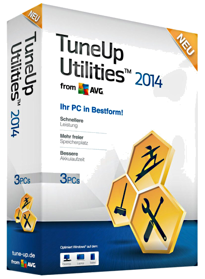 TuneUp Utilities 2014 14.0.1000.296 Final + RePack & Portable by KpoJIuK (2014) Eng/Rus