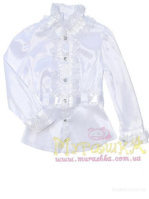 Купить Белую Блузку Для Девочки В Уфе