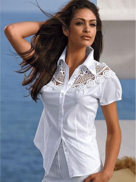 Недорогие белые блузки доставка