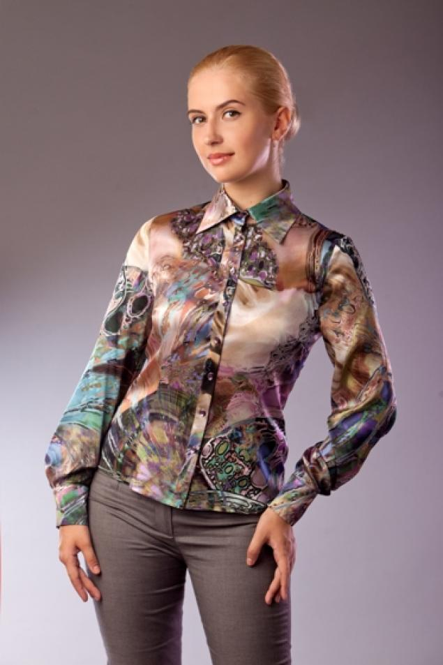 Блузки Из Натурального Шелка