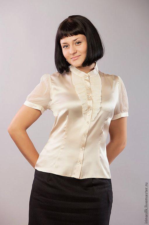Купить Белую Блузку В Челябинске
