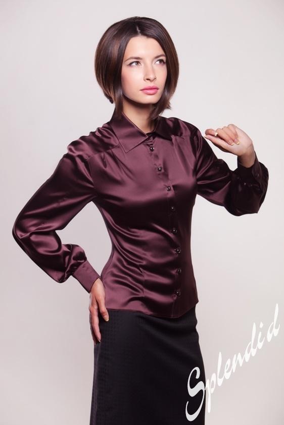 Блузки Шоколадного Цвета Купить