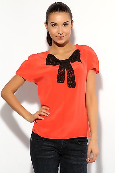 Модели блузок из гипюра