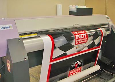 печать плакатов на рулонной бумаге