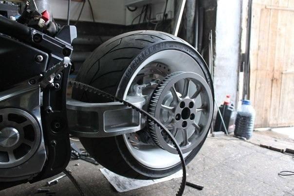Консольный маятник мотоцикла своими руками 43