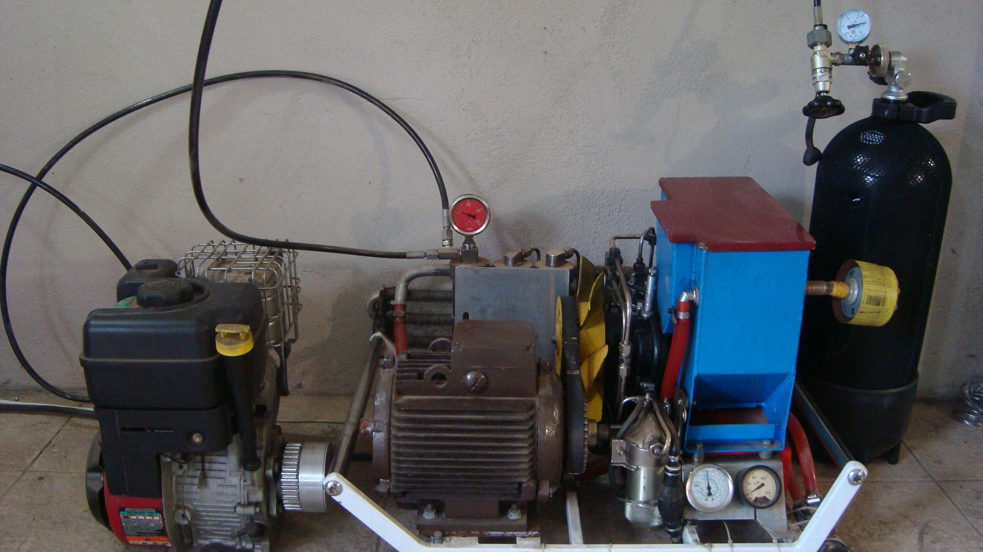 Как сделать из фильтра компрессора