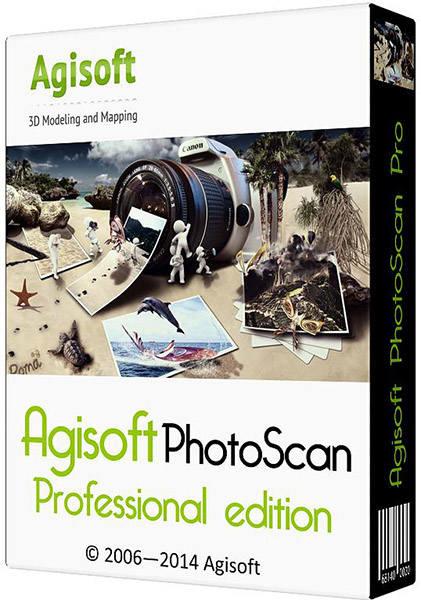 Agisoft PhotoScan Professional 1.1.0 Build 2004 (x86/x64) Portable