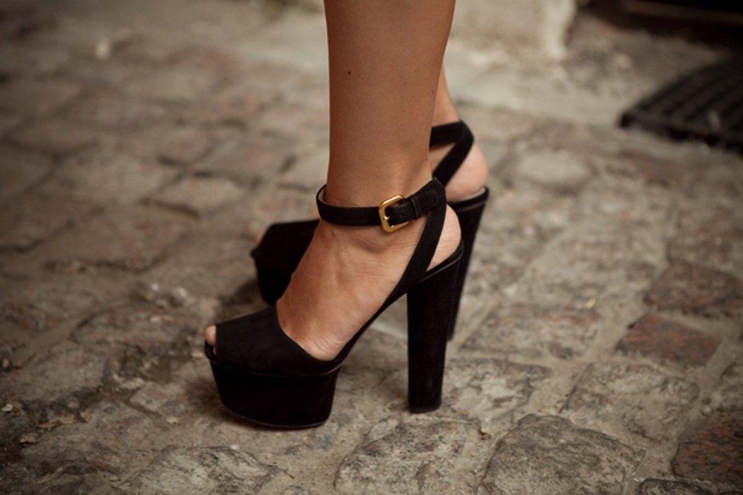 Красивая обувь на высокой шпильке, фото