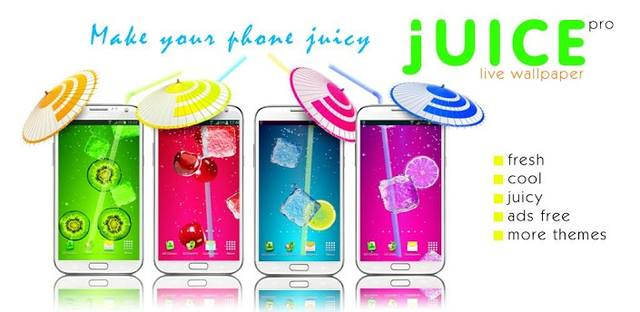 Juice PRO live wallpaper v3.5.3 ��� Android (2014/RUS/ENG)