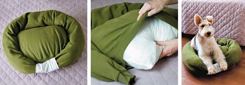 Лежаки для собак своими руками фото
