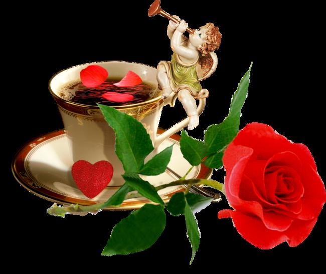 чашка с розой 2