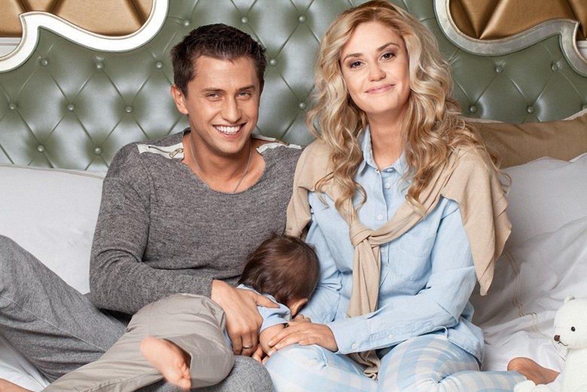 Фото павла прилучного с женой и детьми