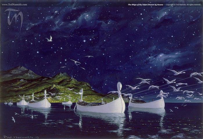Живопись на тему фантастики, фэнтези, сказки, сюрреализма - Страница 2 4994643_m