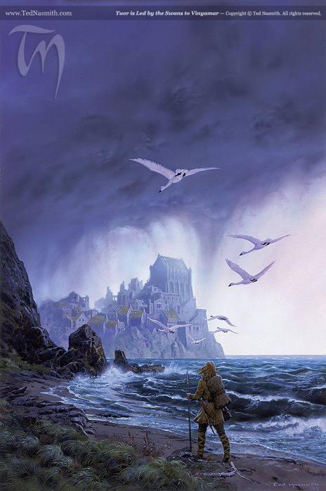 Живопись на тему фантастики, фэнтези, сказки, сюрреализма - Страница 2 4994657_m