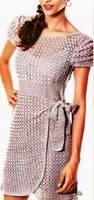 Красивое нарядное платье - Вяжем вместе он-лайн - Страна Мам вязание крючком Постила.