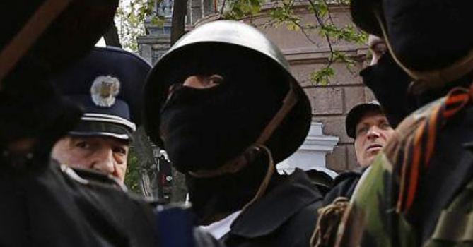 Вооруженные боевики напали на патруль Нацгвардии в Донецке, - МВД - Цензор.НЕТ 5111