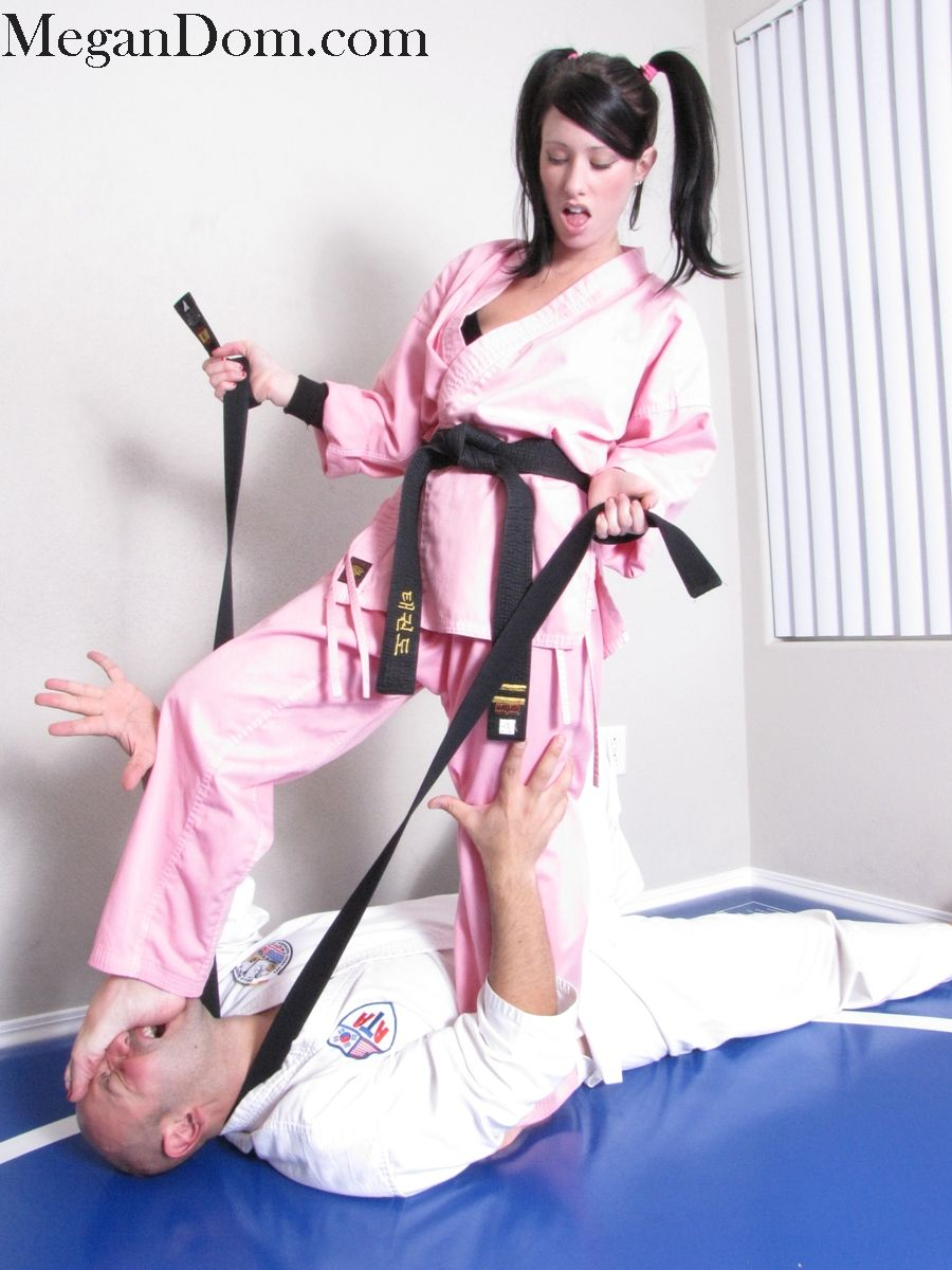 Sexy karate woman porn image