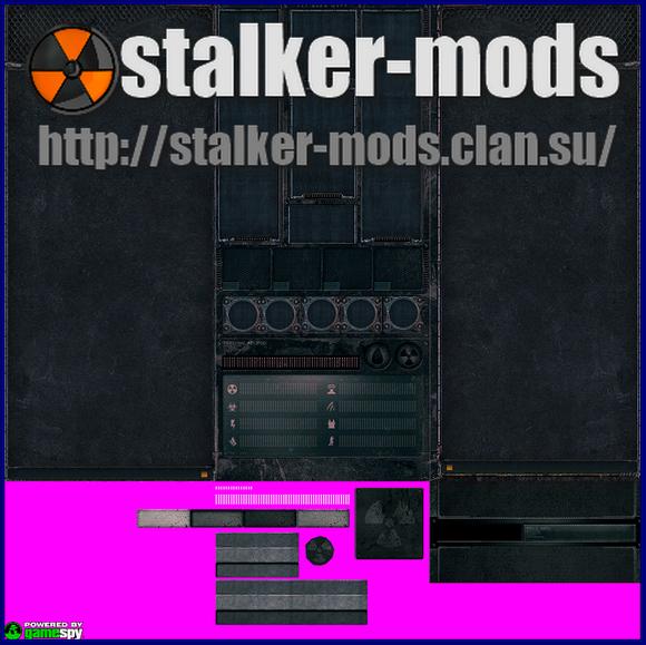 новое меню игры сталкер