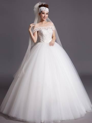 Свадебные платья для беременных с закрытыми плечами 92