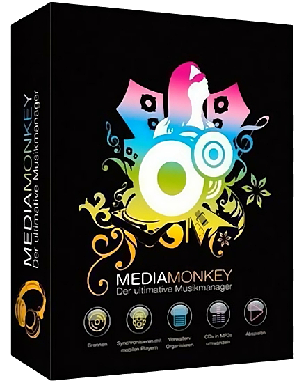 MediaMonkey Gold v4.1.15.1830 Final + Portable [2017,MlRus]