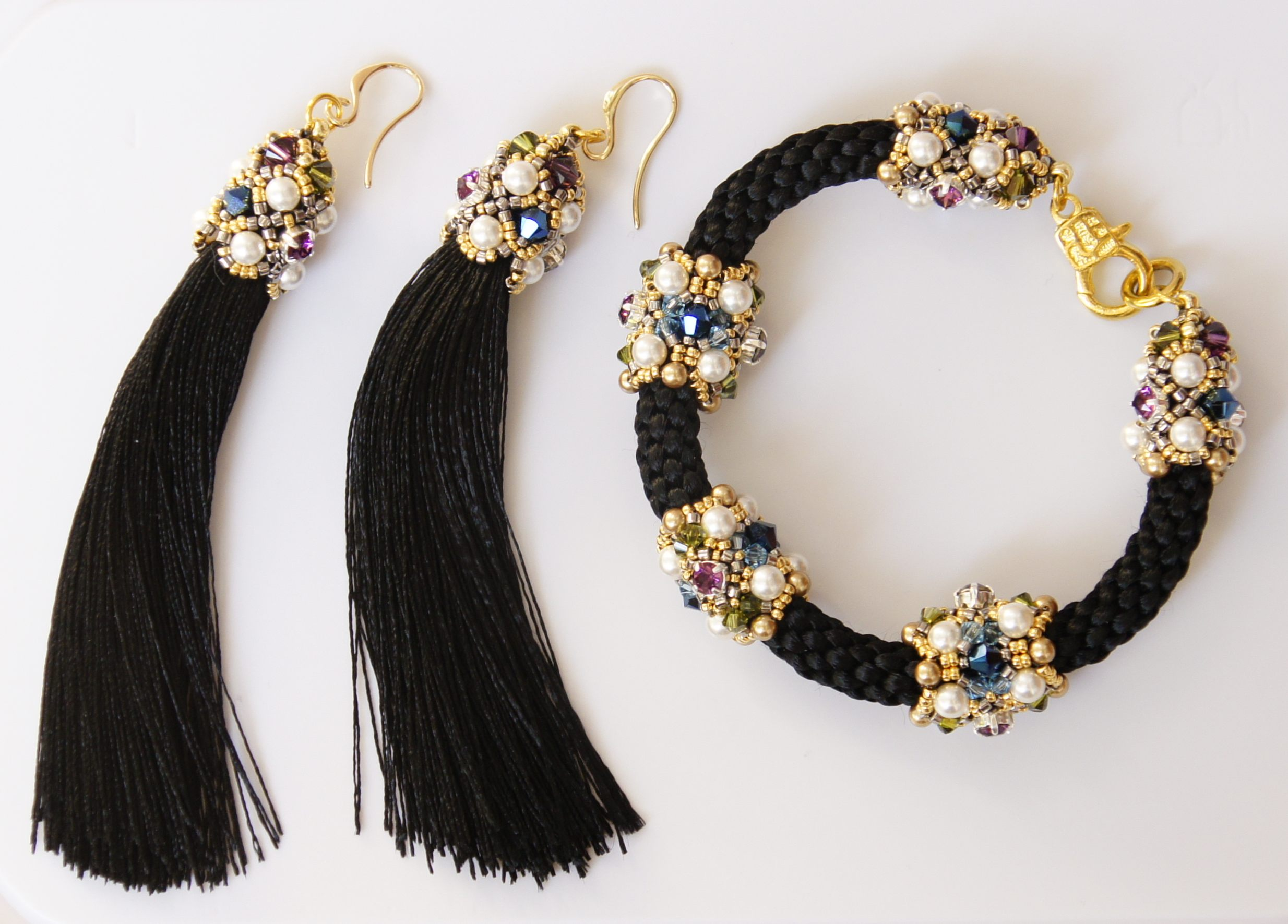 Набор Своими руками Ожерелье, браслет и сережки 4 94